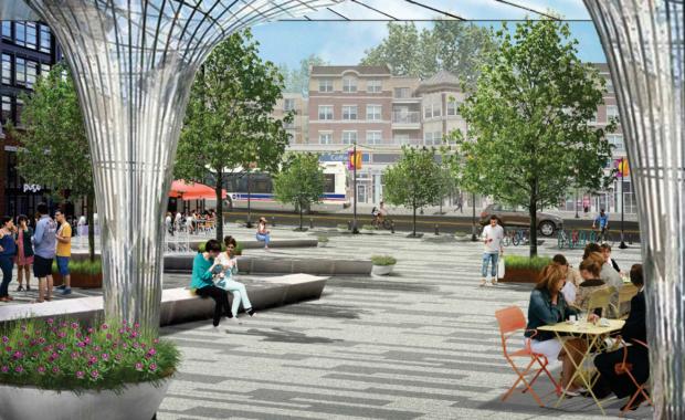 Jefferson Park Plaza