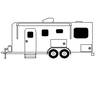 RV Trailers-Bumperpull