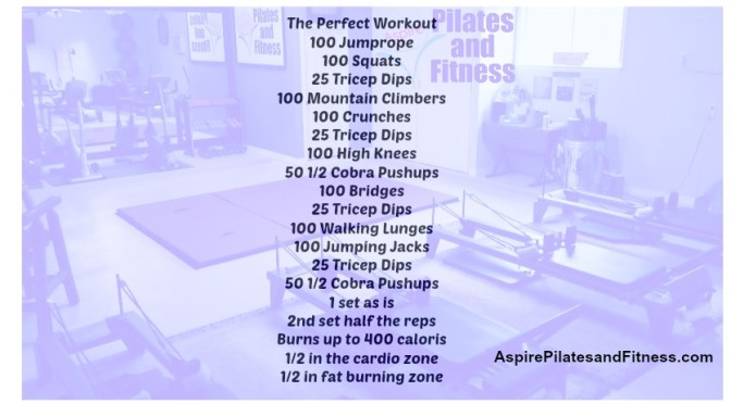 The Perfect Workout