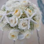 starfish bouquet sanibel island wedding