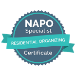 National Association of Productivity & Organizing Professionals. Residential Organizing Certificate