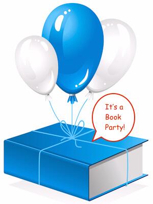 thick book on balloon (vector)