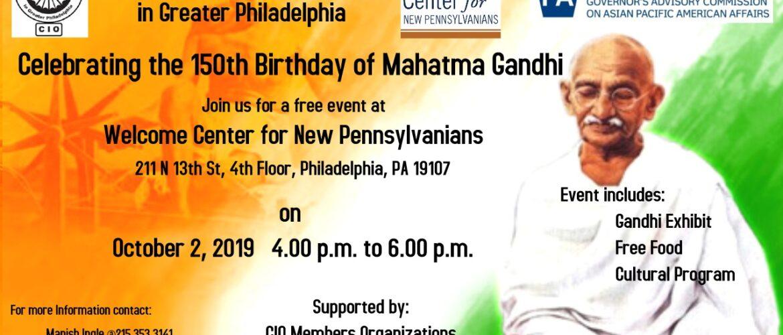 Mahatma Gandhi 150th Birthday Celebration
