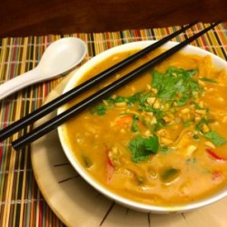 Leftover Wonderment: Vietnamese Noodle Soup with Squash, Coconut, and Curry (Video)