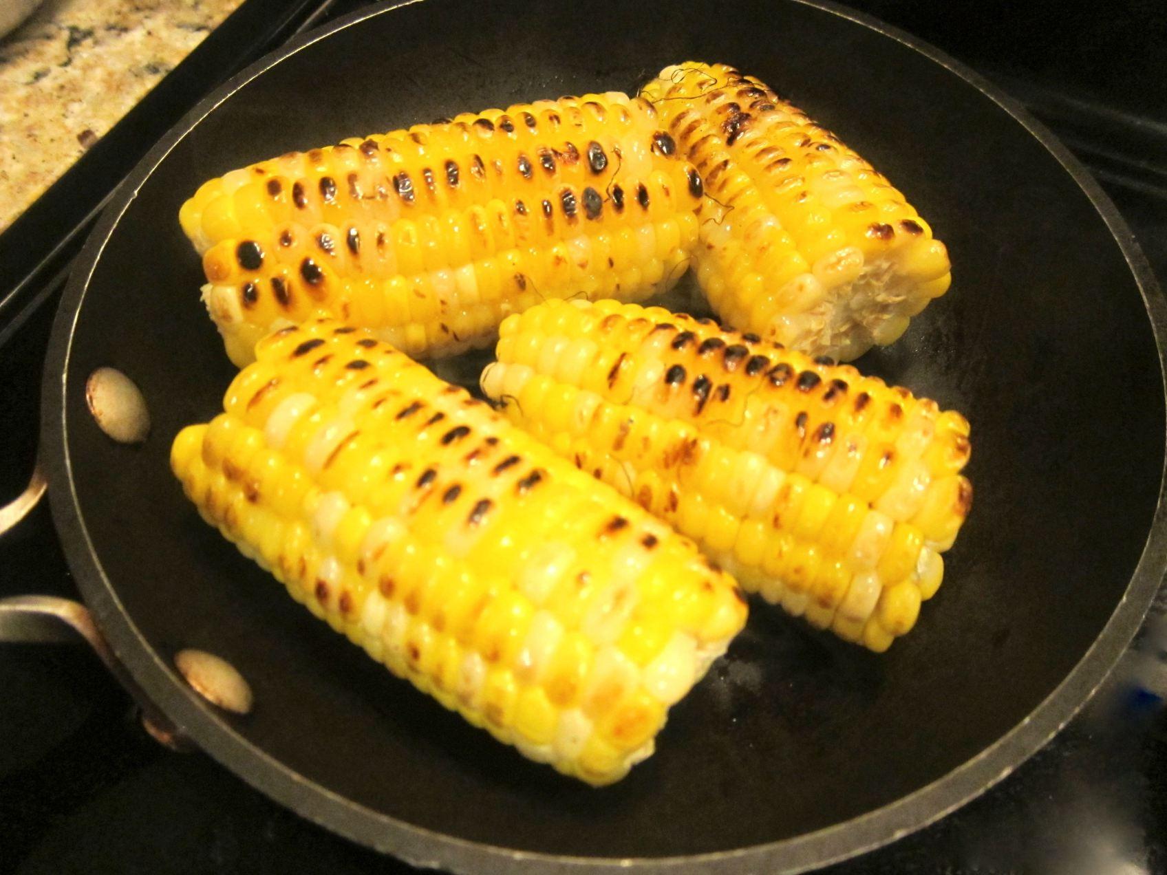 Seared Corn