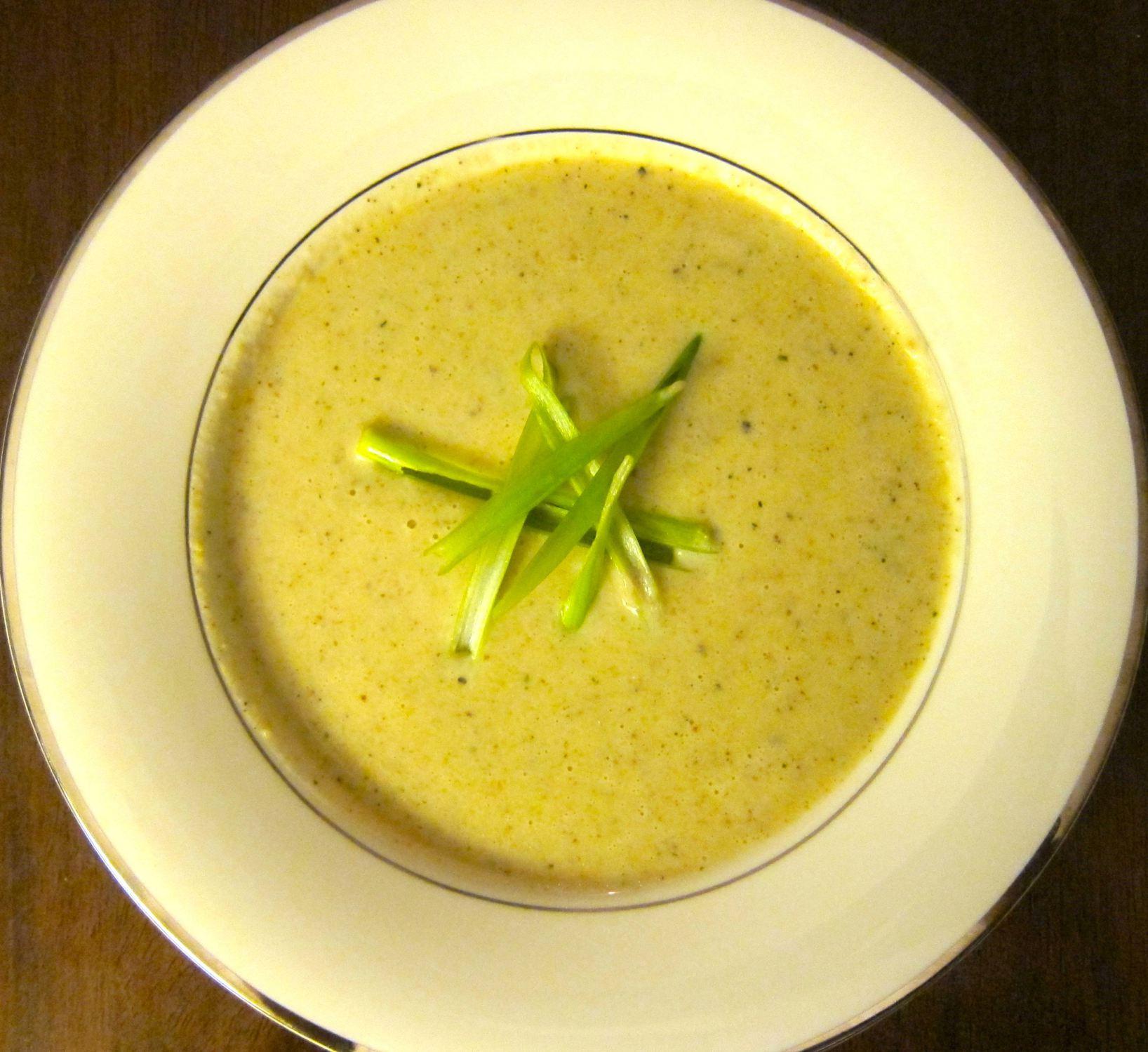 Artichoke Soup   #pkway