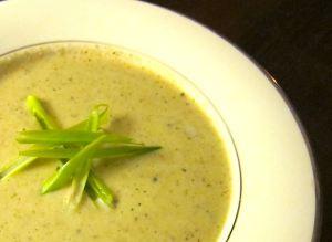 Cauliflower and Artichoke Soup