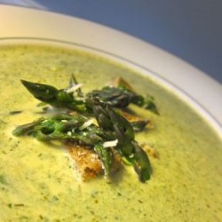The Perfect Spring Soup? Cream of Asparagus, of Course!