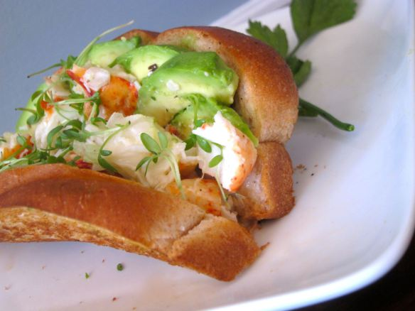 Lobster and Avocado Roll