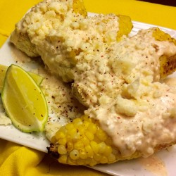 Summer Indulgence: Mexican Street Corn with Garlic Aioli and Cotija Cheese