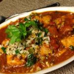 Swordfish in Tomato Tamarind Sauce