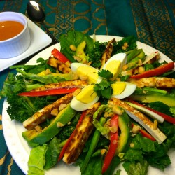A Big Salad for Supper Goes to Southeast Asia