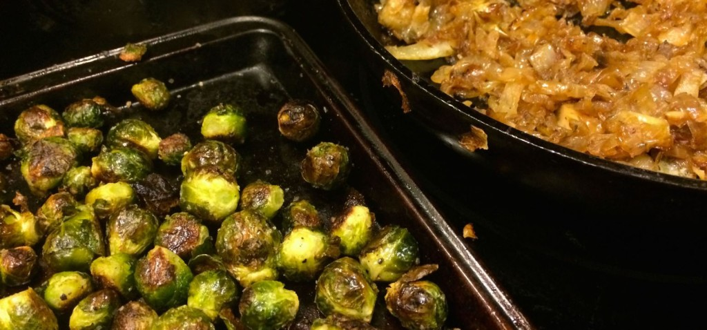 Brussels Sprourts and Caramelized Onions