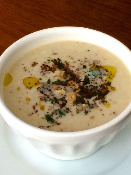 Parsnip and Cauliflower Soup