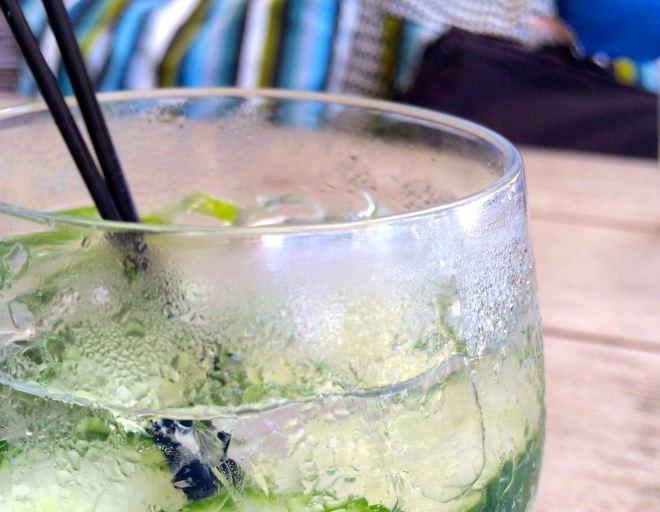 Cucumber Lime Spritzer