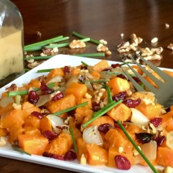Healthy Holidays: Roasted Butternut Squash Salad (Recipe)