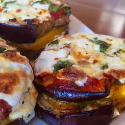 Eggplant Parmigiana, the PK Way
