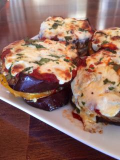 Eggplant Parmigiana | #pkway