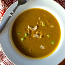 Healthy Holidays: Curried Pumpkin Soup (Recipe)