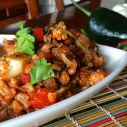 Mexican Cauliflower (Recipe)
