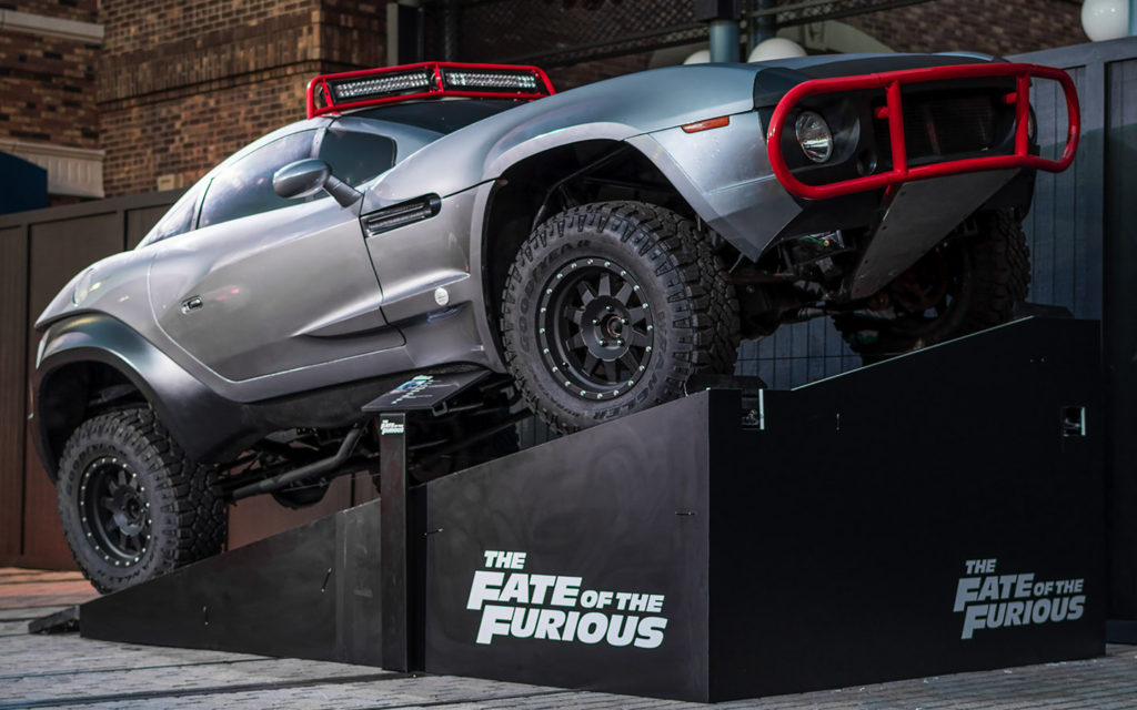 Rally Fighter in Fate of the Furious