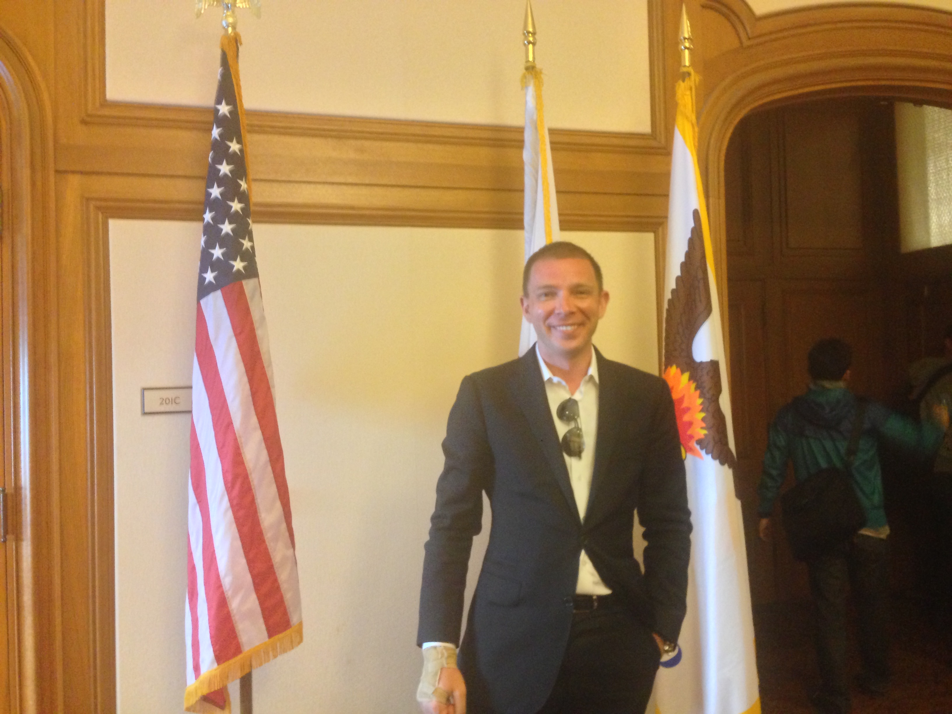 Dmitry Fedotov @ San Francisco Mayor's office