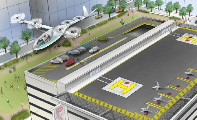 UBER flying car project
