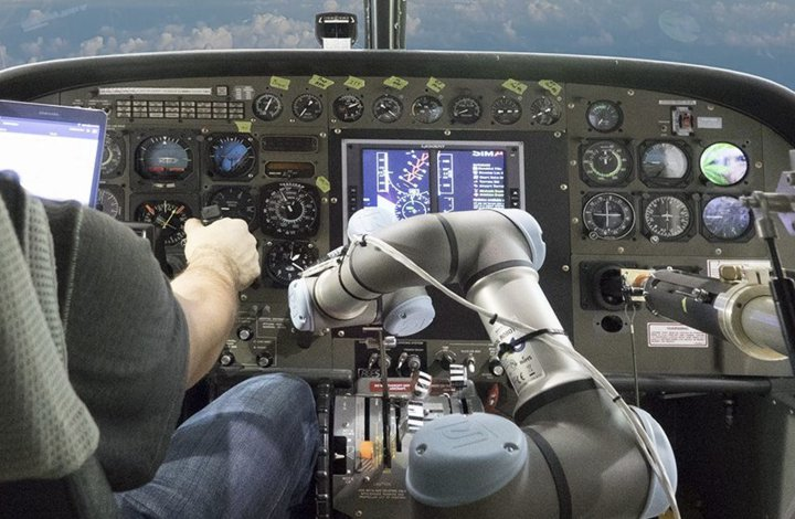 robotic arm and a tablet-based user interface with speech recognition