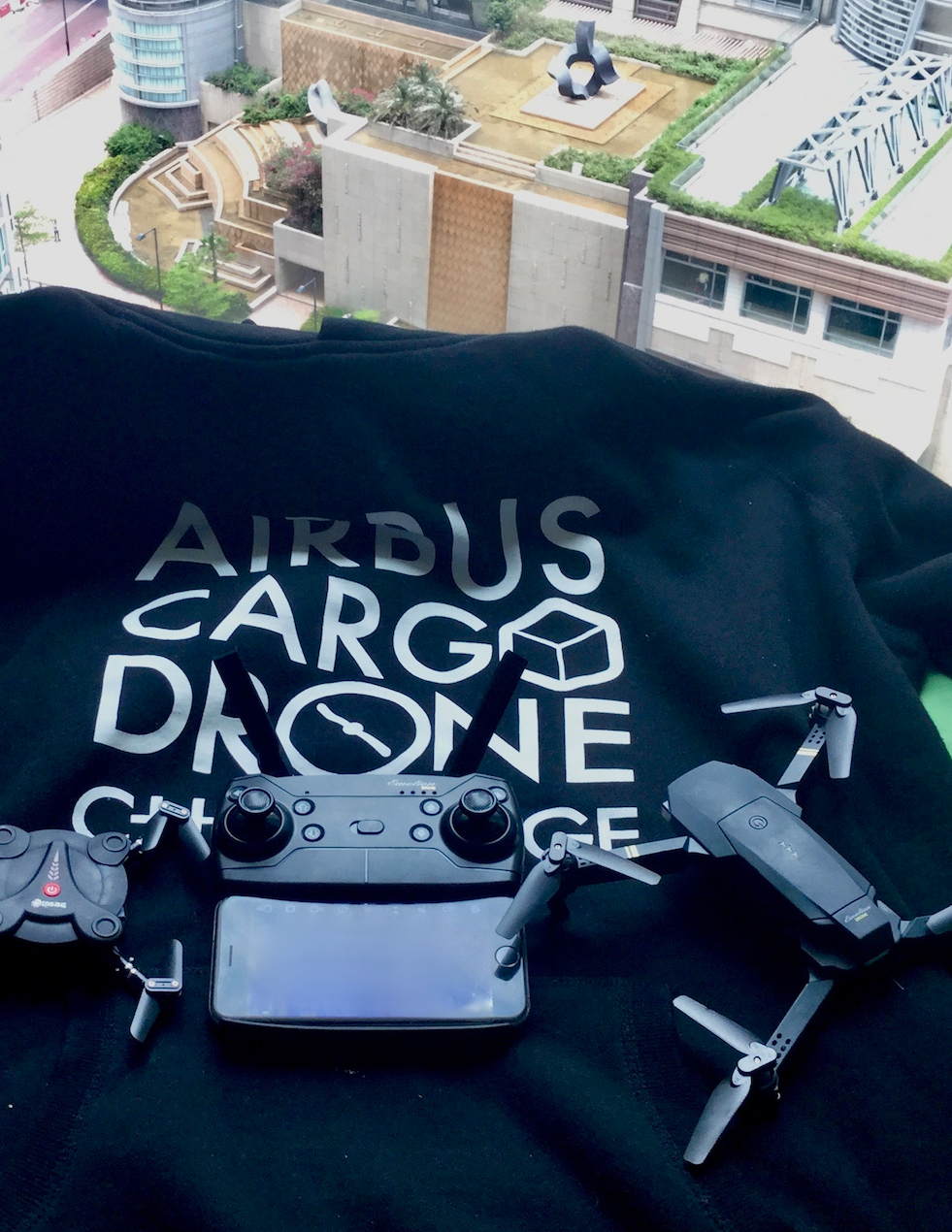 A good day to crush some drones