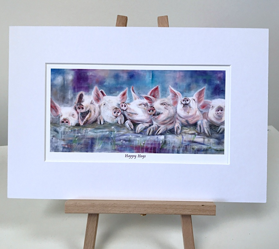 Hogs, Pigs Pankhurst Gallery