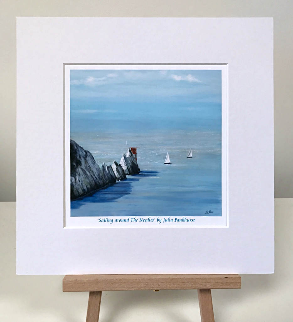 Sailing The Needles Isle of Wight Pankhurst Gallery