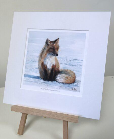 Wistful Thinking Fox Pankhurst Gallery