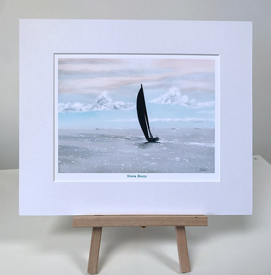 Sailing Warm Breeze Pankhurst Gallery