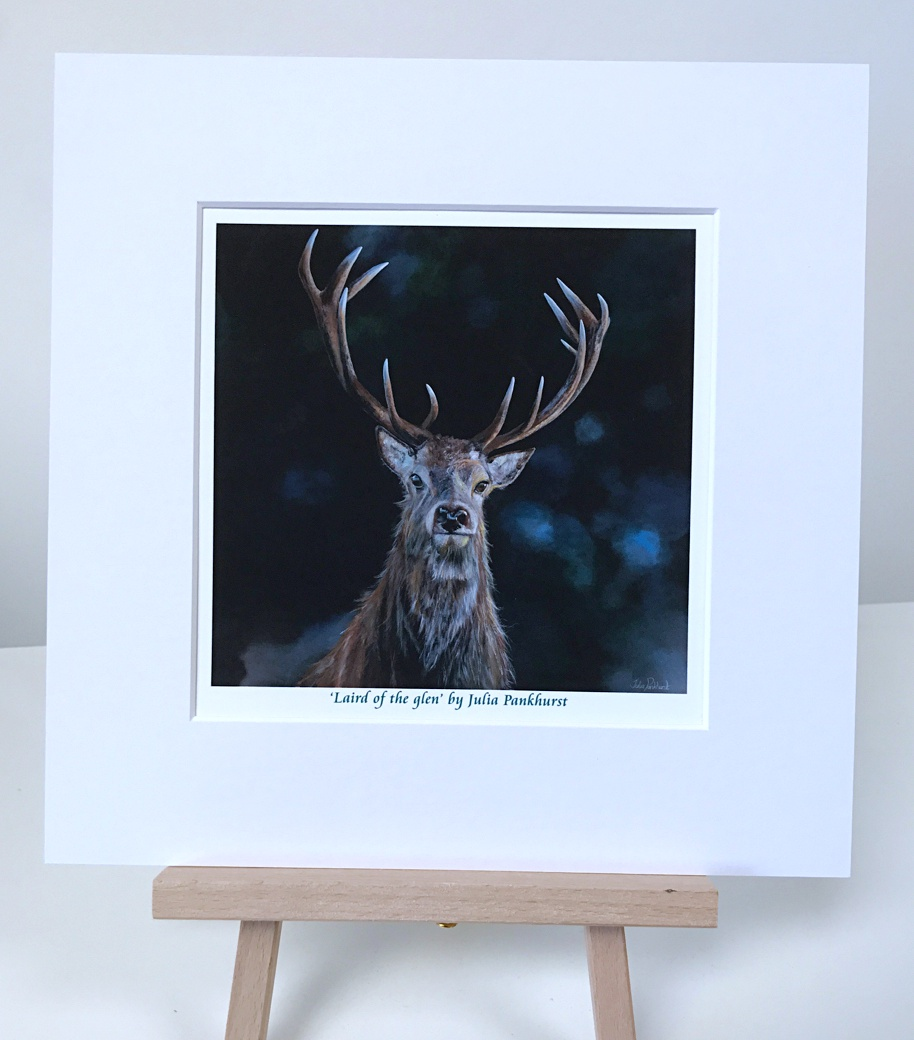 Stag Laird of the Glen Pankhurst Gallery