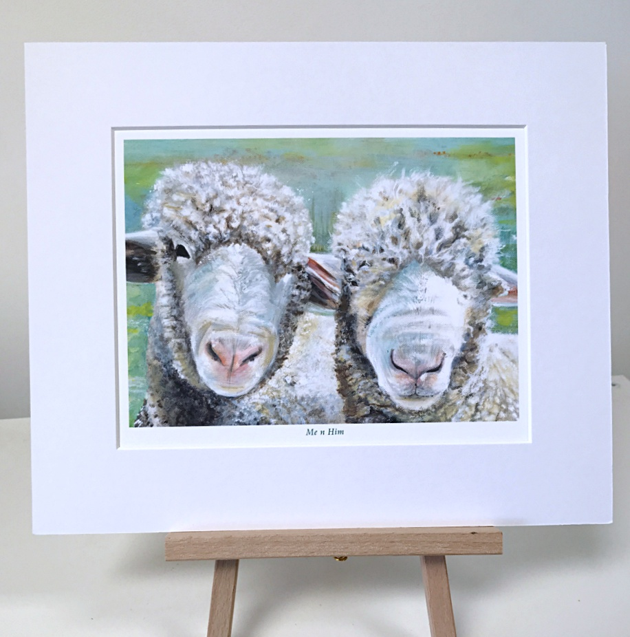 Pair of Sheep, Pankhurst Gallery
