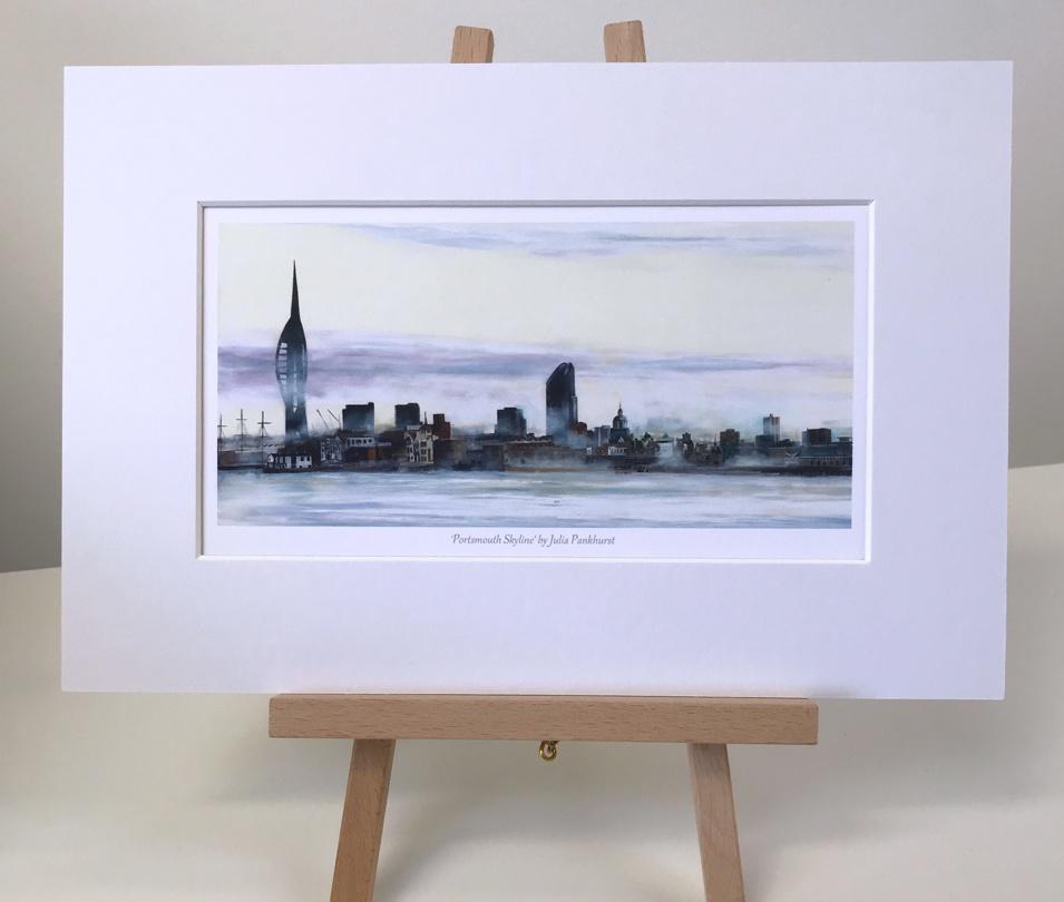 Portsmouth Skyline Pankhurst Gallery