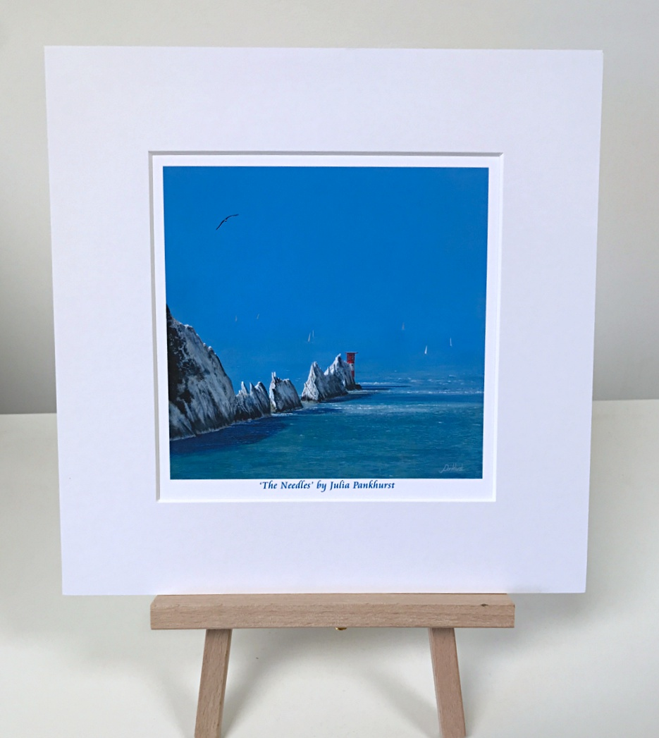 The Needles Isle of Wight Seascape Art Print Gift Pankhurst Gallery
