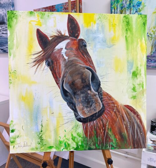 Chester Horse Original Painting Art Pankhurst Gallery