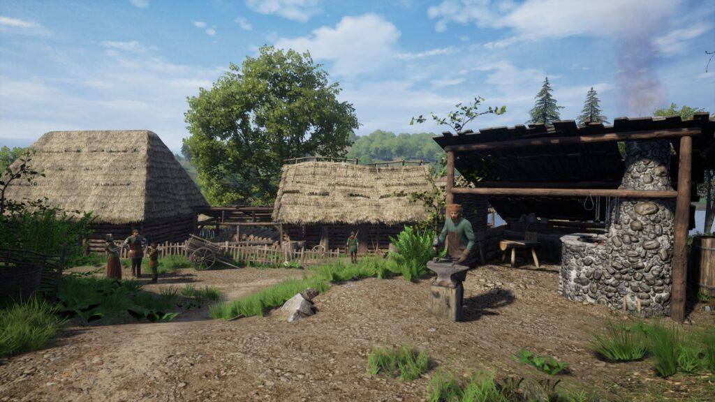 medieval dynasty village