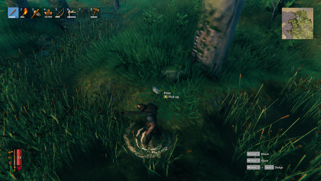 where to find flint in valheim it can be located near any source of water