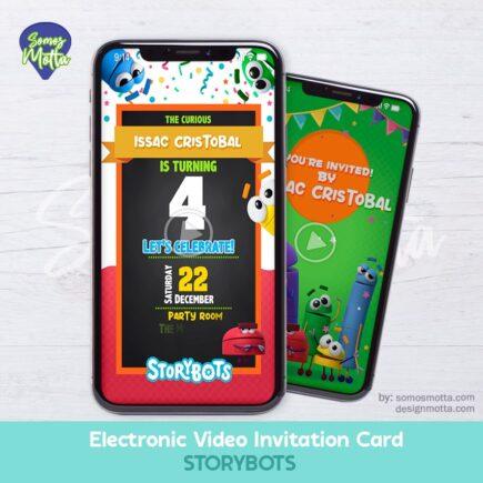 Electronic Video Invitation Card STORYBOTS