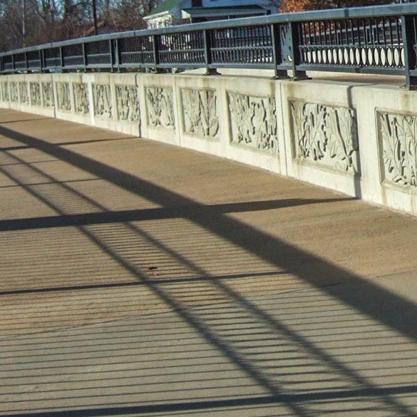 11th Street Bridge - West River Blvd and 11th Street.