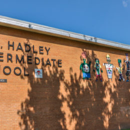 Hadley Middle School - 1101 Dougherty - photo from 2009