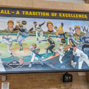 Shocker Baseball - Wichita State University, Eck Stadium - 1845 Fairmount - by Ted Watts - photo from 2009