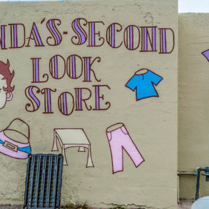 Linda's Second Look Store - 2111 E. Central - by Jose N [Ernesto?] Morales, 2014 - photo from 2014
