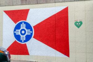 Wichita Flag - 1807 E. Douglas - by 'j' - photo from 2016