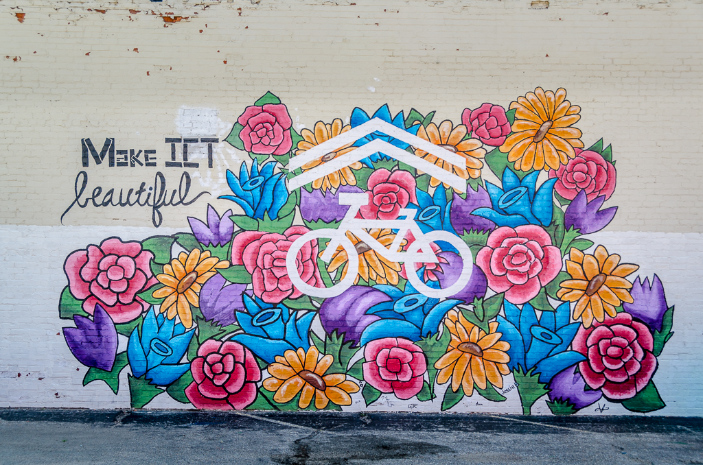 Sharrowing is Caring - 1116 E. Douglas - by MakeICT - photo from 2016