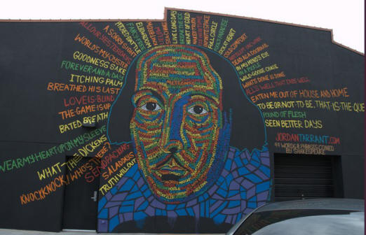 99 Words & Phrases by William Shakespeare - 201 N. Mead - photo from 2012