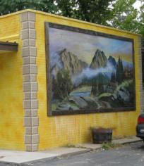 Businesses at 721-739 W. 13th Street (Riverside Cafe; Good Stuf; UR So Craftee) - by César Ramirez Verdin - photo from 2007