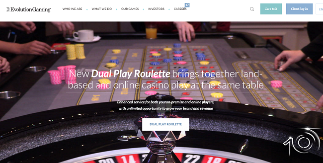 dual play roulette evolutiongaming
